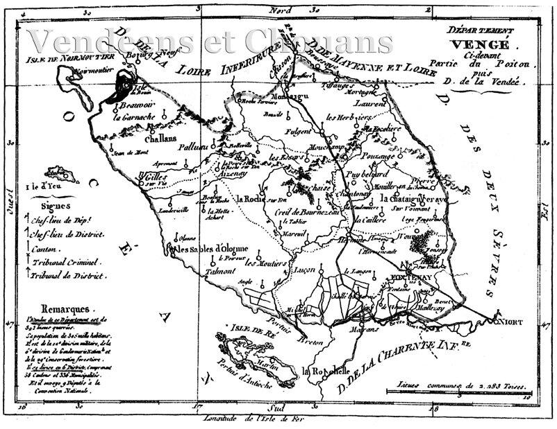 8 novembre 1793 – La Vendée condamnée à disparaître