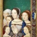 Portrait présumé de marguerite d'après corneille