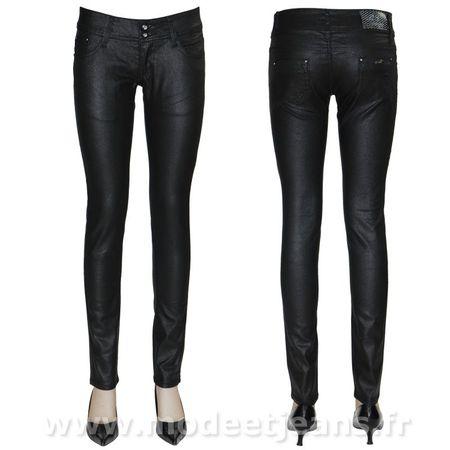 jeans enduit pas cher. Black Bedroom Furniture Sets. Home Design Ideas
