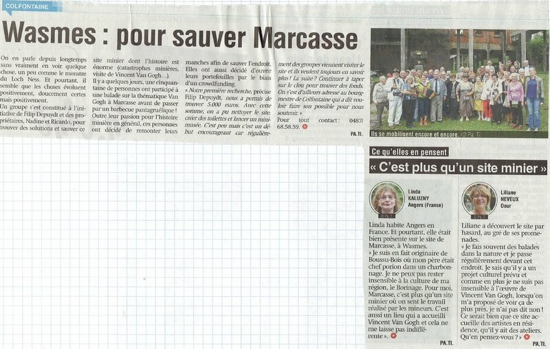 PROVINCE20160911 - Wasmes - sauver Marcasse