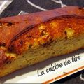 Le cake banane/chocolat