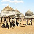 vernaculaires huttes perchées