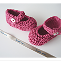 Petits chaussons de bb