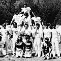 Groupe de bénévoles à bourg st maurice 1969