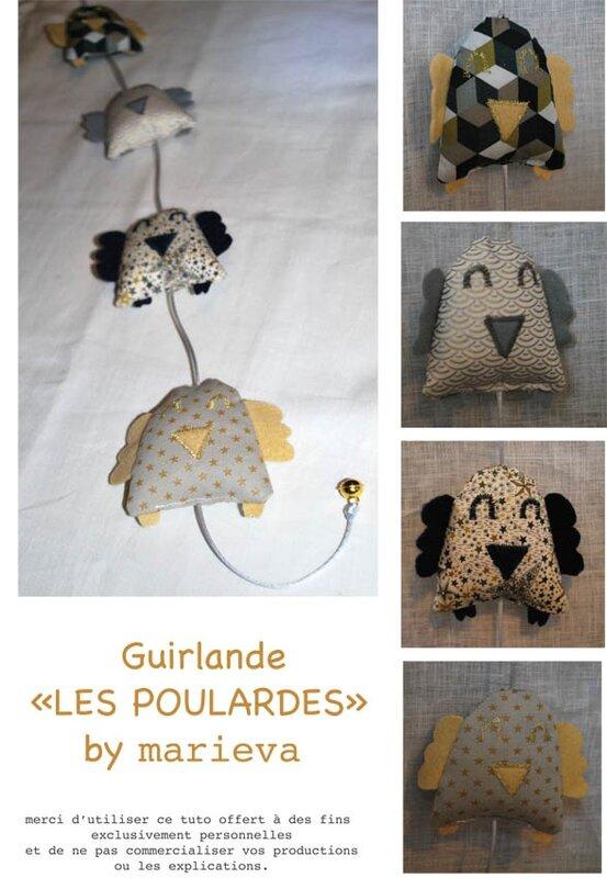 Guirlande LES POULARDES