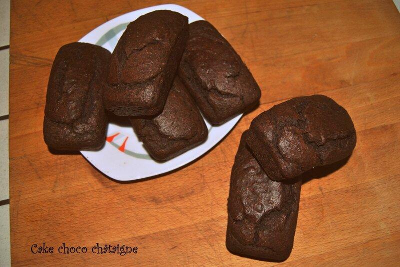 Cake choco châtaigne 1