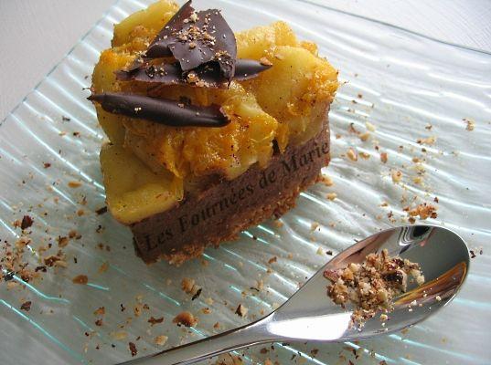 Coeur croustillant chocolat-fruits d'automne 02