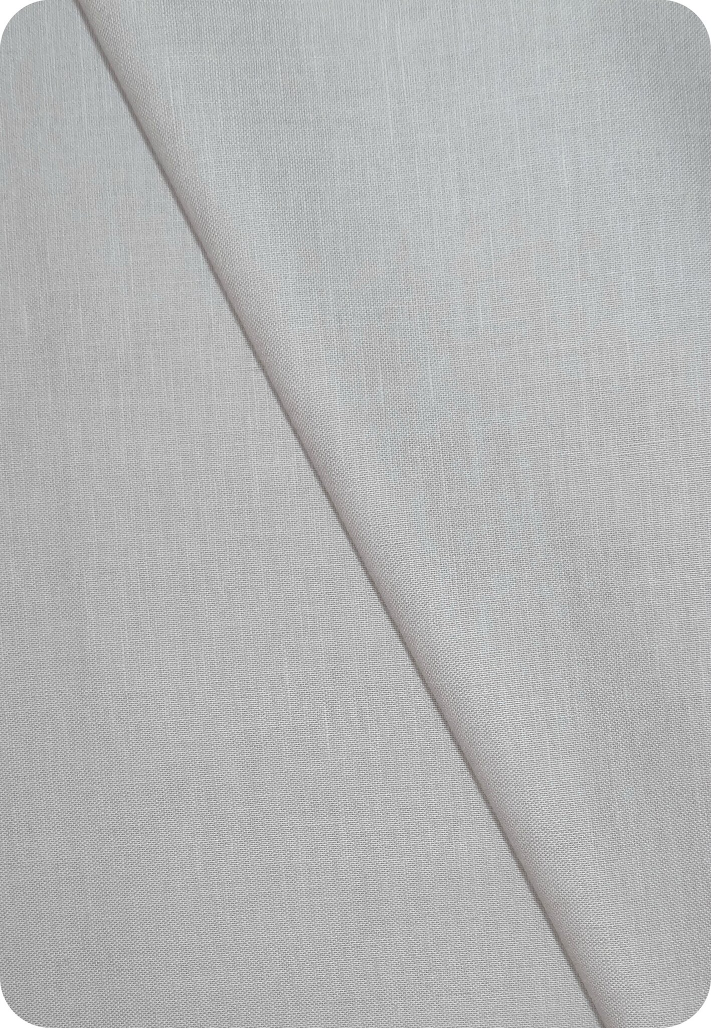 Tissu coton gris clair