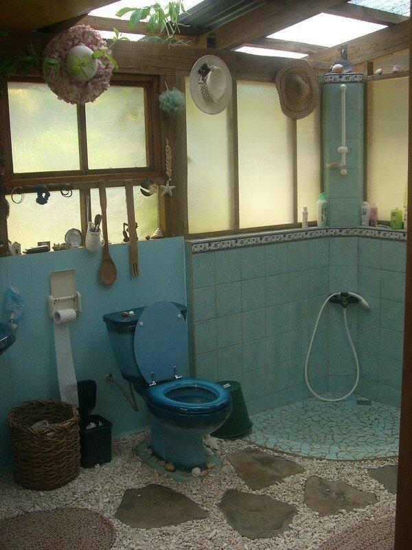 d coration salle de bain coquillage. Black Bedroom Furniture Sets. Home Design Ideas