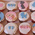 Cupcakes bebes