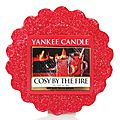 Cozy by the fire, yankee candle