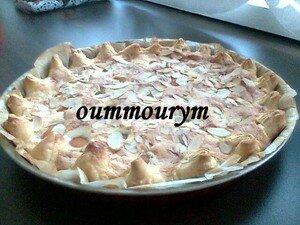 Ma tarte amandine aux abricots