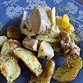 Filet mignon aux legumes de saison