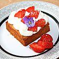 Tartelette fraise bergamote mascarpone