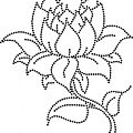Une fleur en ornaré
