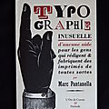 Typographie inusuelle Finitude