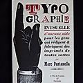 Typographie inusuelle Finitude