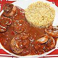 Rognons d'agneau et salsa dip douce