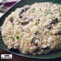 Le risotto aux morilles