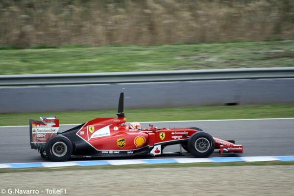 2014-Jerez essais prives-F14 T-Raikkonen-4