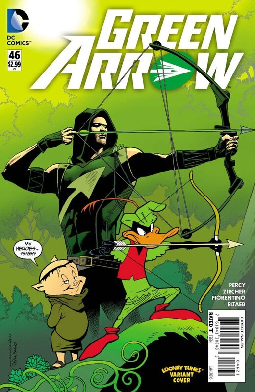 green arrow 46 looney tunes variant
