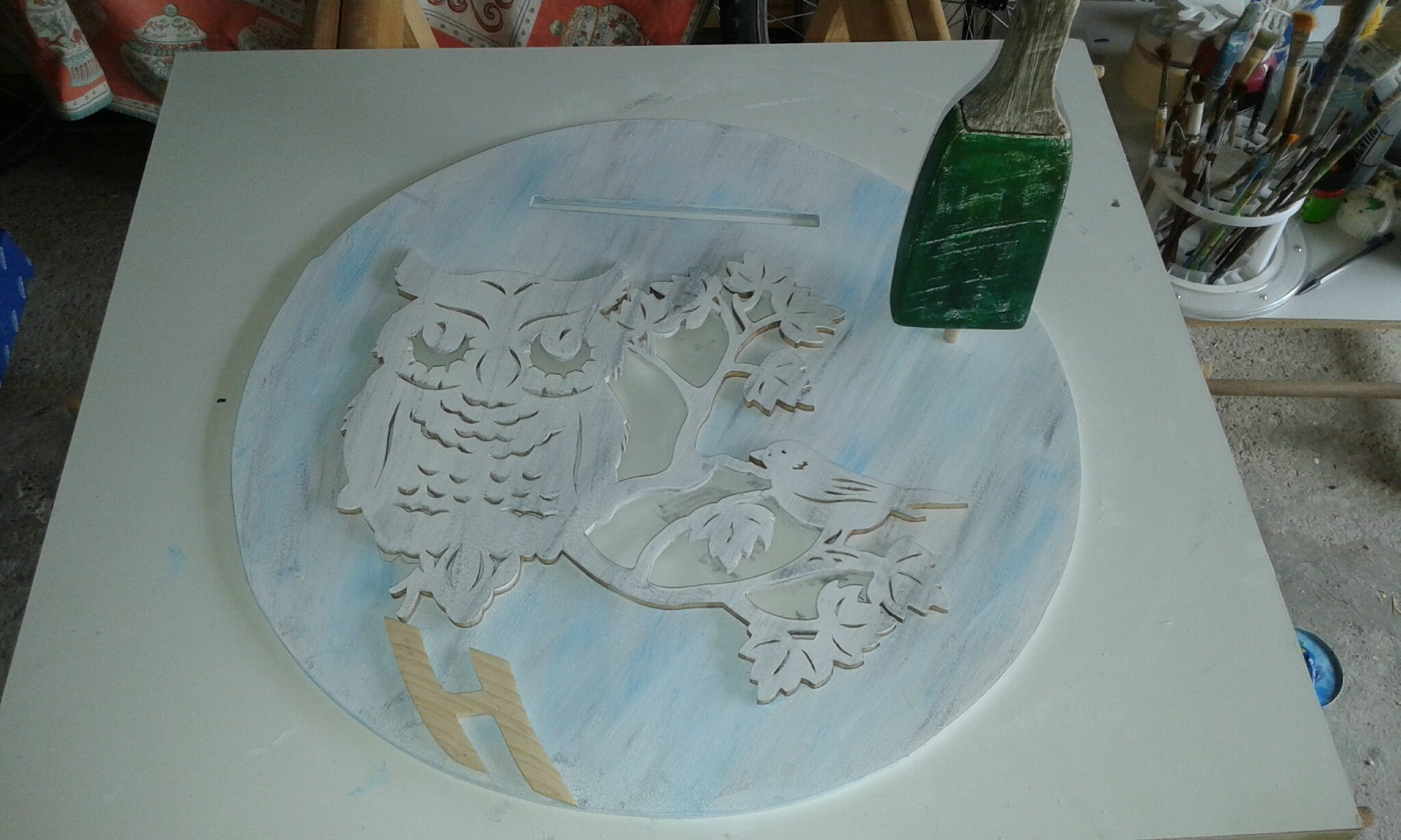 Urne d 39 anniversaire tous les messages sur urne d 39 anniversaire jouez au bois for Peinture pour contreplaque