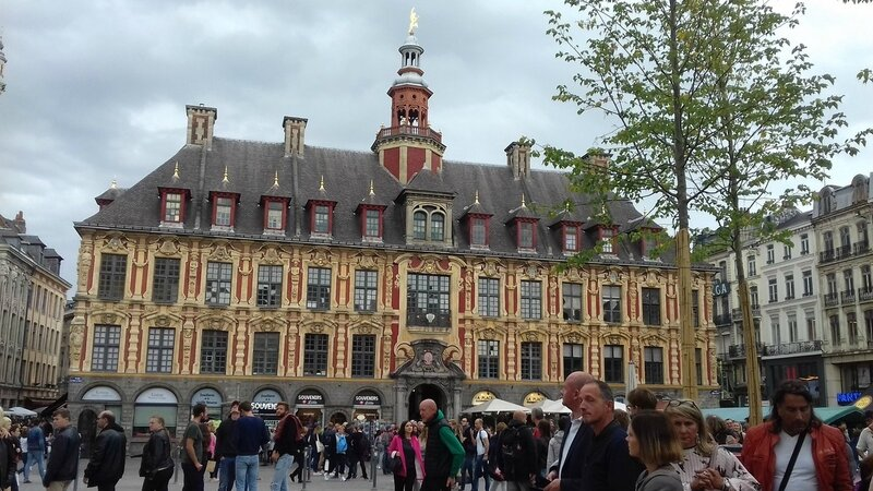 Lille, grand place
