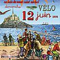 Convergence vélo en baie du mont-saint-michel #7 dimanche 12 juin 2016