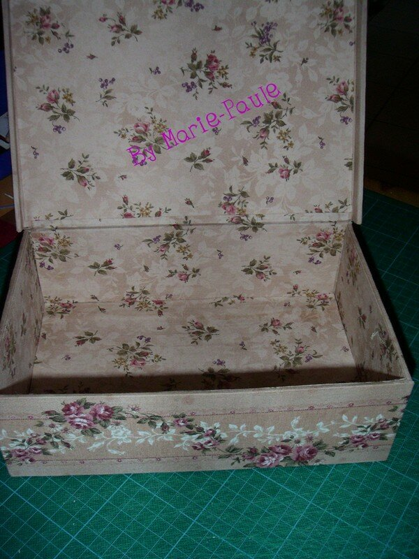la boîte de Marie-Paule Déc 2006
