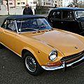 Fiat 124 sport spider 1966-1974