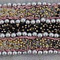 Bracelet brodé n° B13N0074