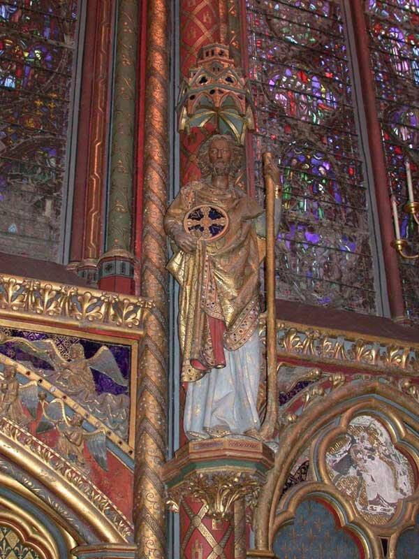 intérieur Ste Chapelle 1
