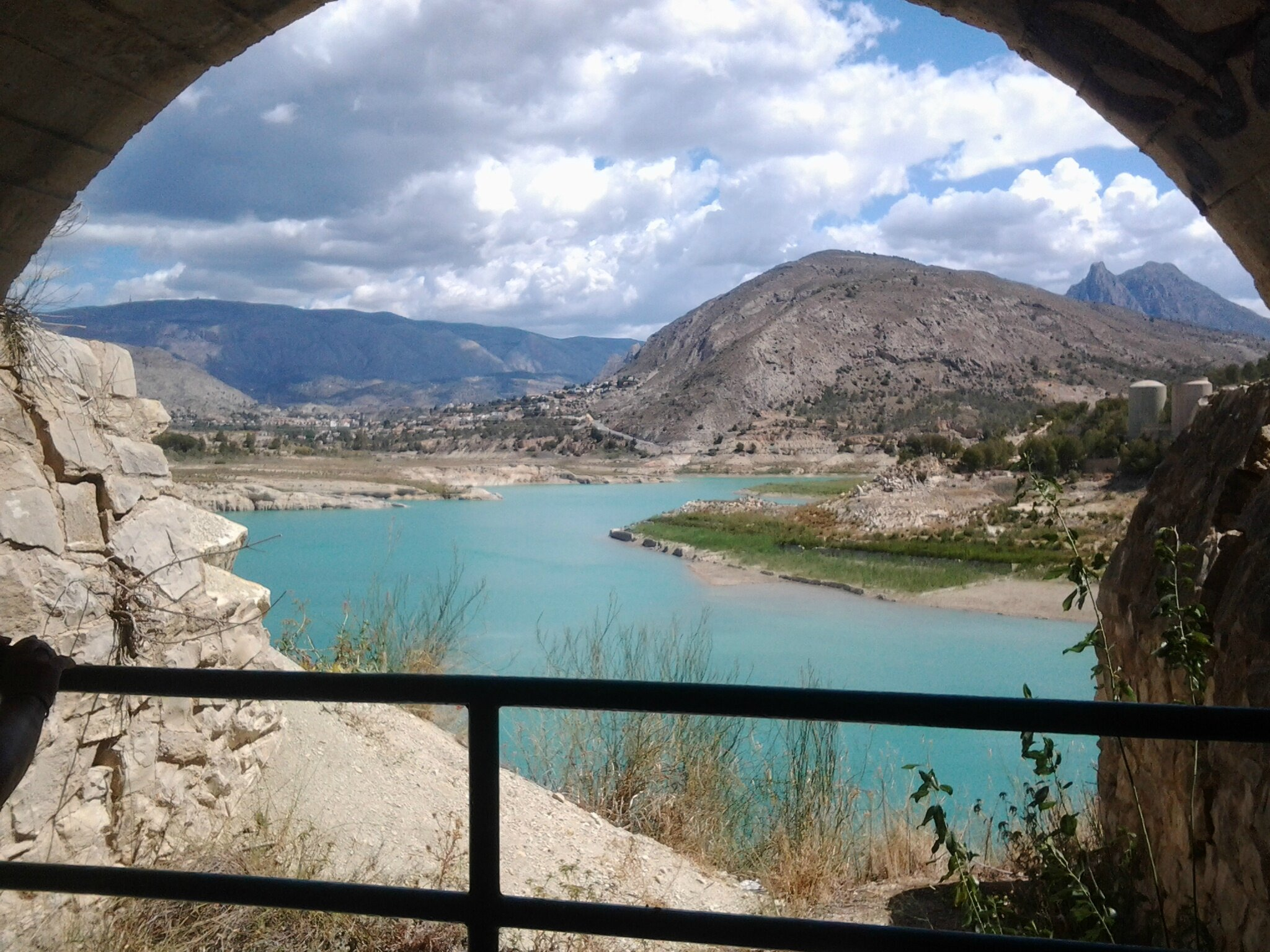 Balade au barrage de l'Amadoiro