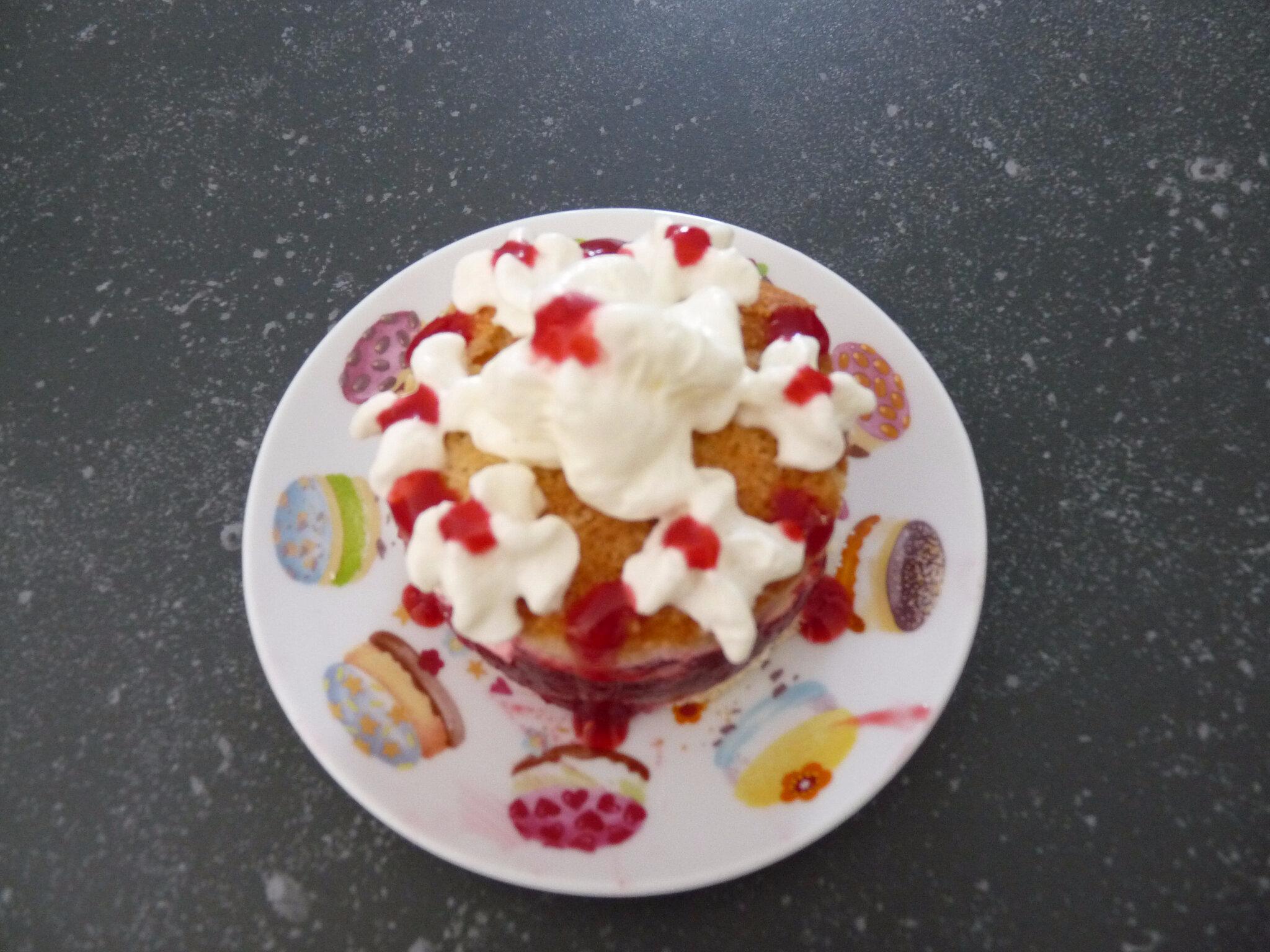 Gâteau d'été