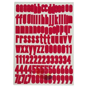 EMBC01 PDE Alpha Chipboard Fuschia Minuscules