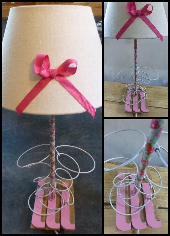 Lampe LIBERTY ROSE