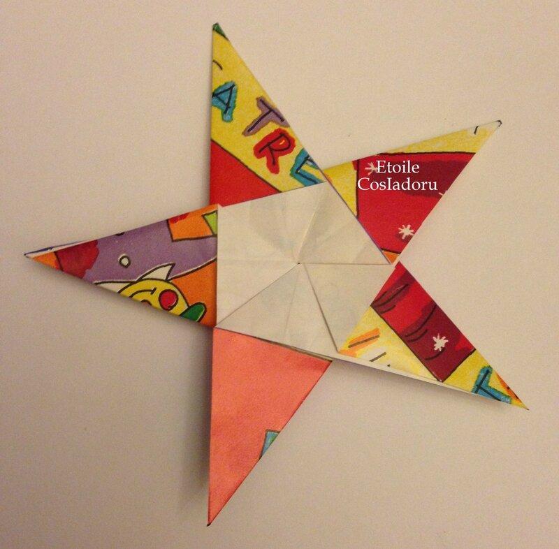 Etoile De No L En Origami Cosiadoru