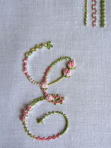 Alfabeto Claudia Rita - E
