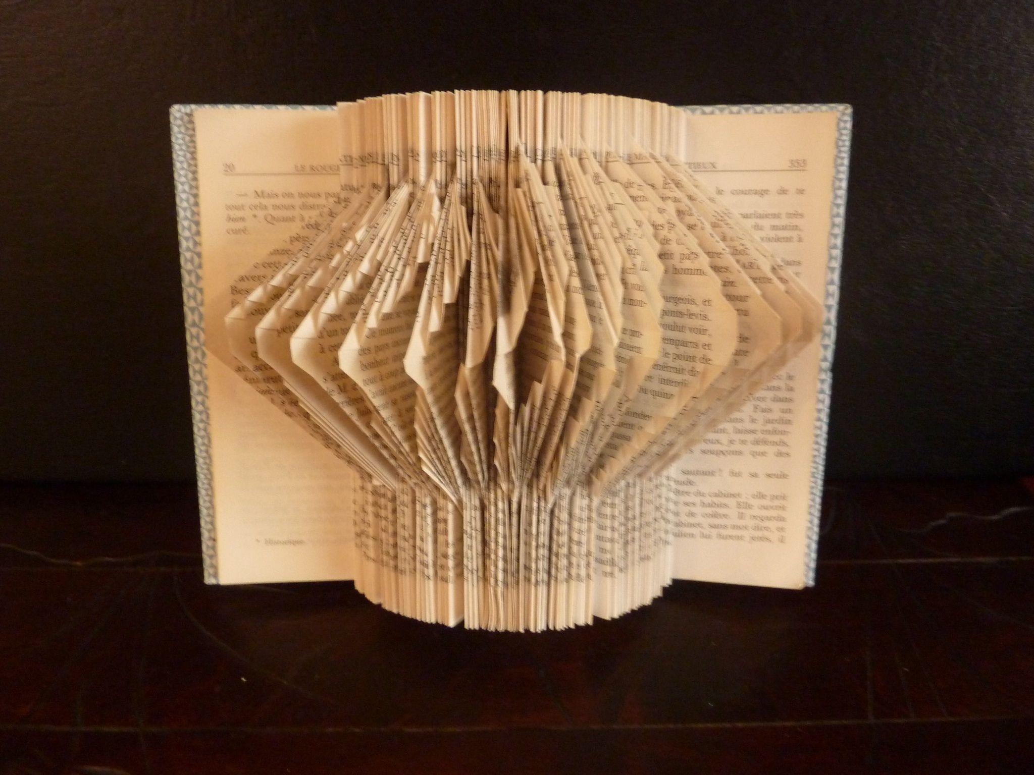 Gut gemocht Livre plié : Frou frou - Victoire LOO livres pliés artistiquement NO06