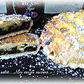 Tartelettes figue & figue-poire