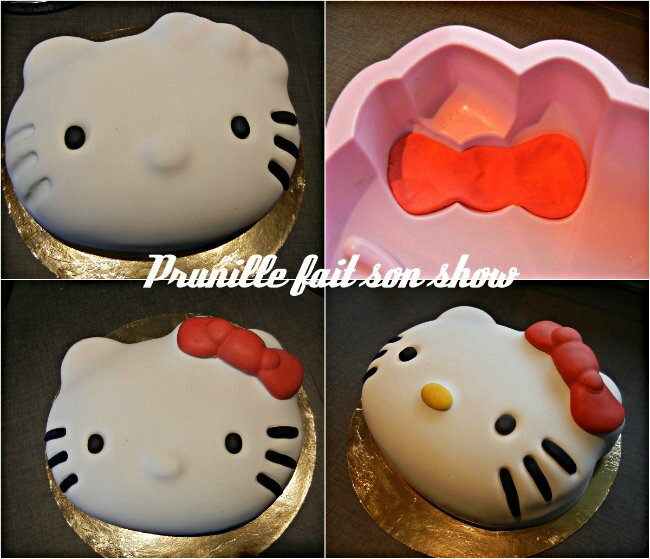 collage tuto hello kitty cake 6