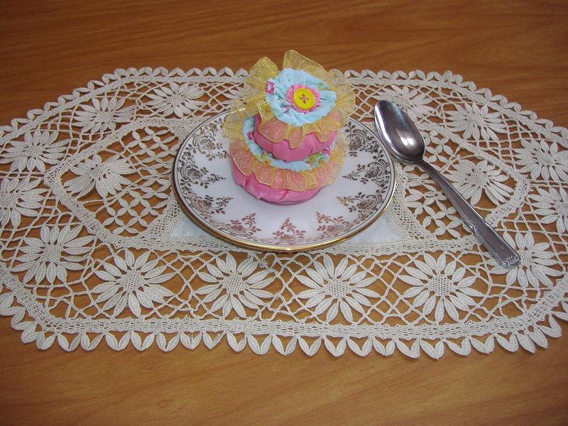 Un gâteau à zéro calorie de Ghisou