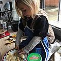 Les muffins chocolat banane de maman cane