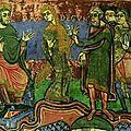 Sainte radégonde, le miracle des avoines au monastère de poitiers