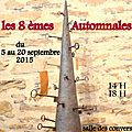 2.- 8 èmes Automnales 2015