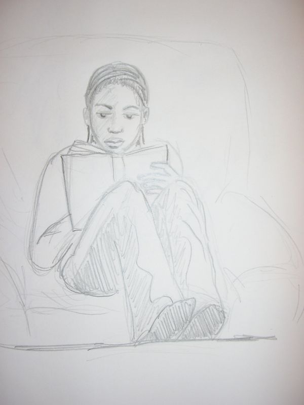 Bidenda lit un livre