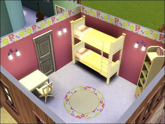 Lit superpos sims 3 for Sims 3 chambre bebe