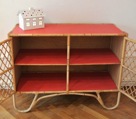 commode circus rouge 4