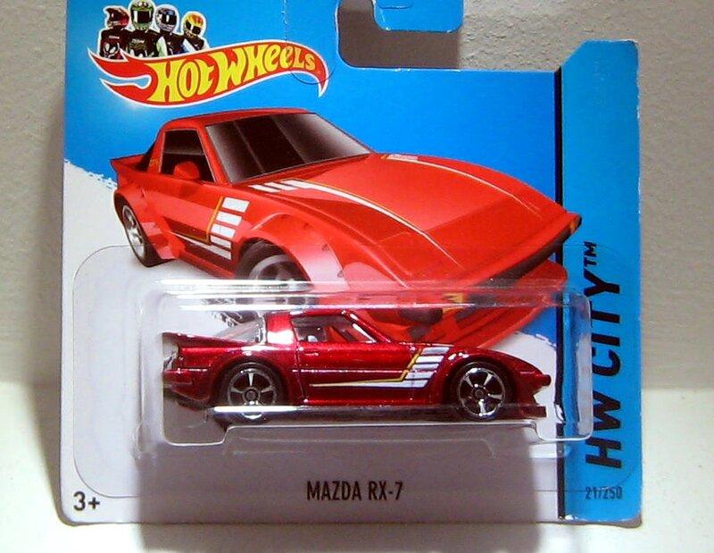 Mazda RX-7 (Hotwheels 2014)