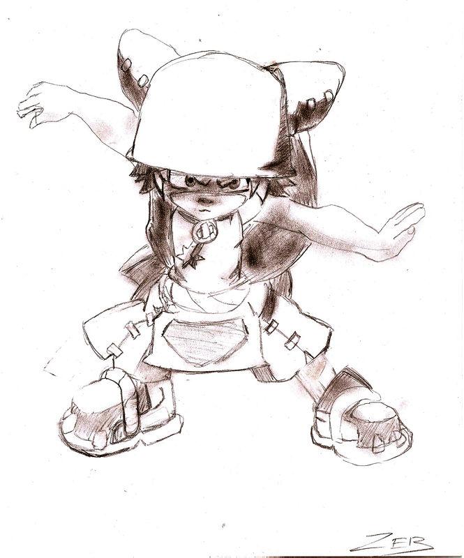 comment dessiner yugo de wakfu